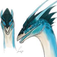 Lanzarus concept sketches by LabradoriteWolf