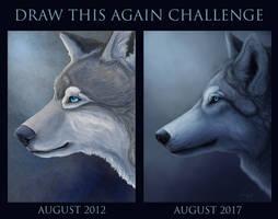 Draw this again challenge - Tala by LabradoriteWolf
