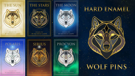 Wolf Pin Kickstarter: 24 hours left! by LabradoriteWolf