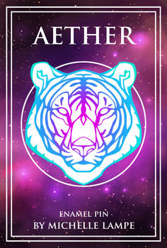 Aether: Enamel Tiger Pin