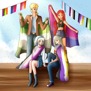 Happy pride month and day! Featuring everyone!
