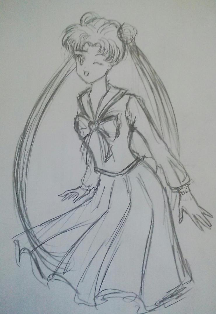 Usagi Sailormoon by Paut-Tina