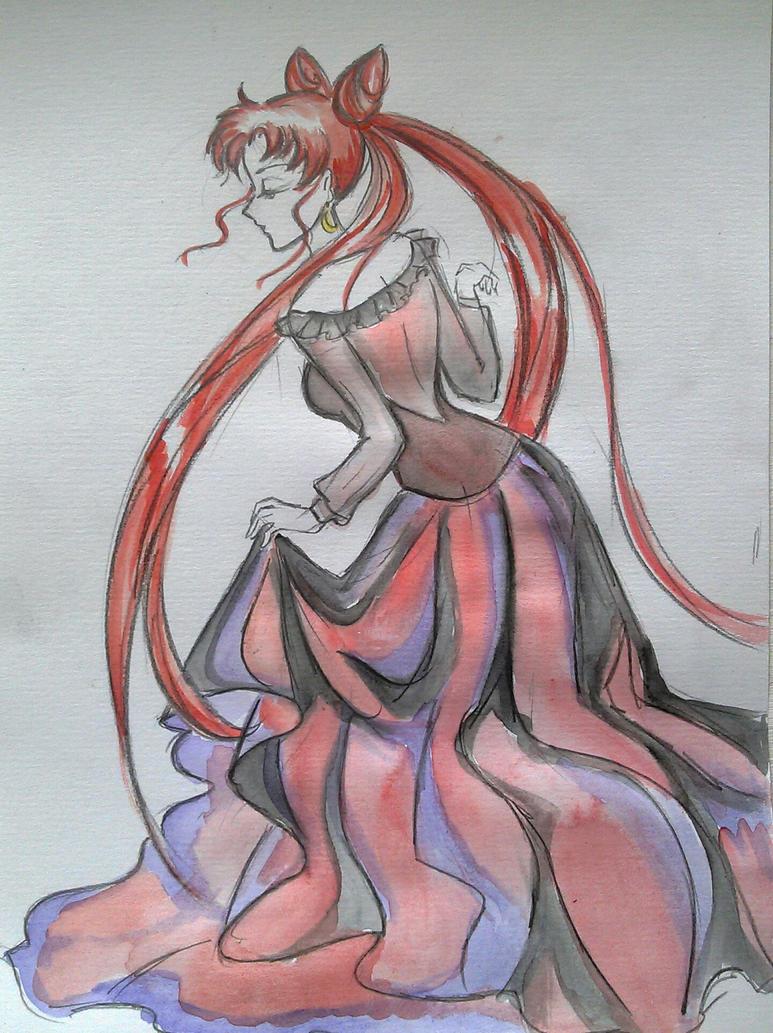 Dark lady sailormoon by Paut-Tina