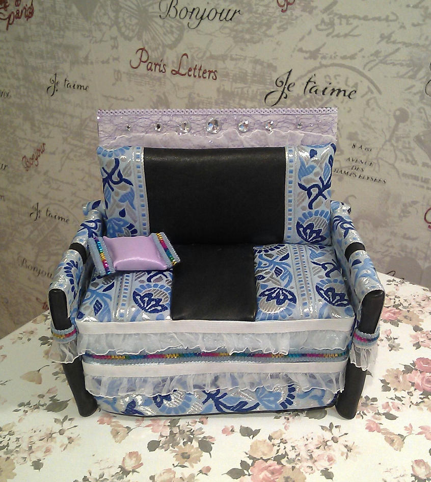Bed For doll by Paut-Tina
