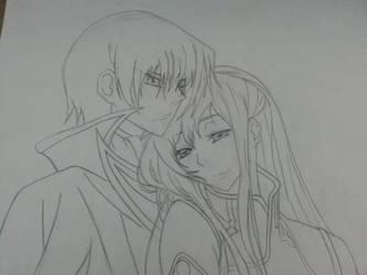 Lelouch Couple - WIP by mirkz2005