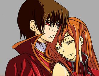 Lelouch Couple by mirkz2005