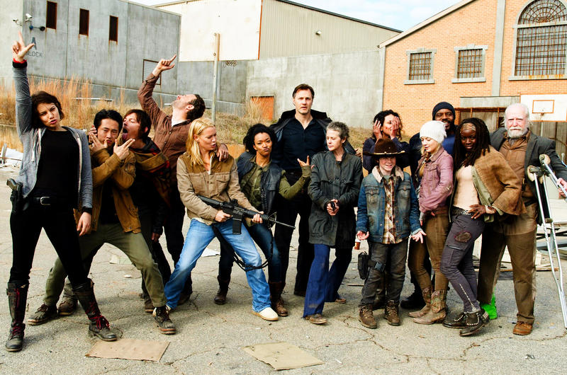 The Walking Dead Casting
