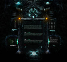 Depravity Game Website by binhood