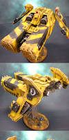 Imperial Fists Caestus Assault Ram by HomeOfCadaver