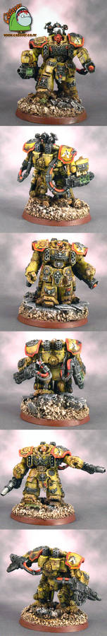 Imperial Fists Centurion Devastators