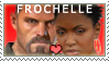 Francis x Rochelle stamp by DrowVisionary