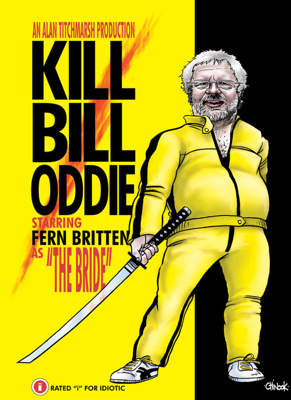 KILL BILL ODDIE by chinook23