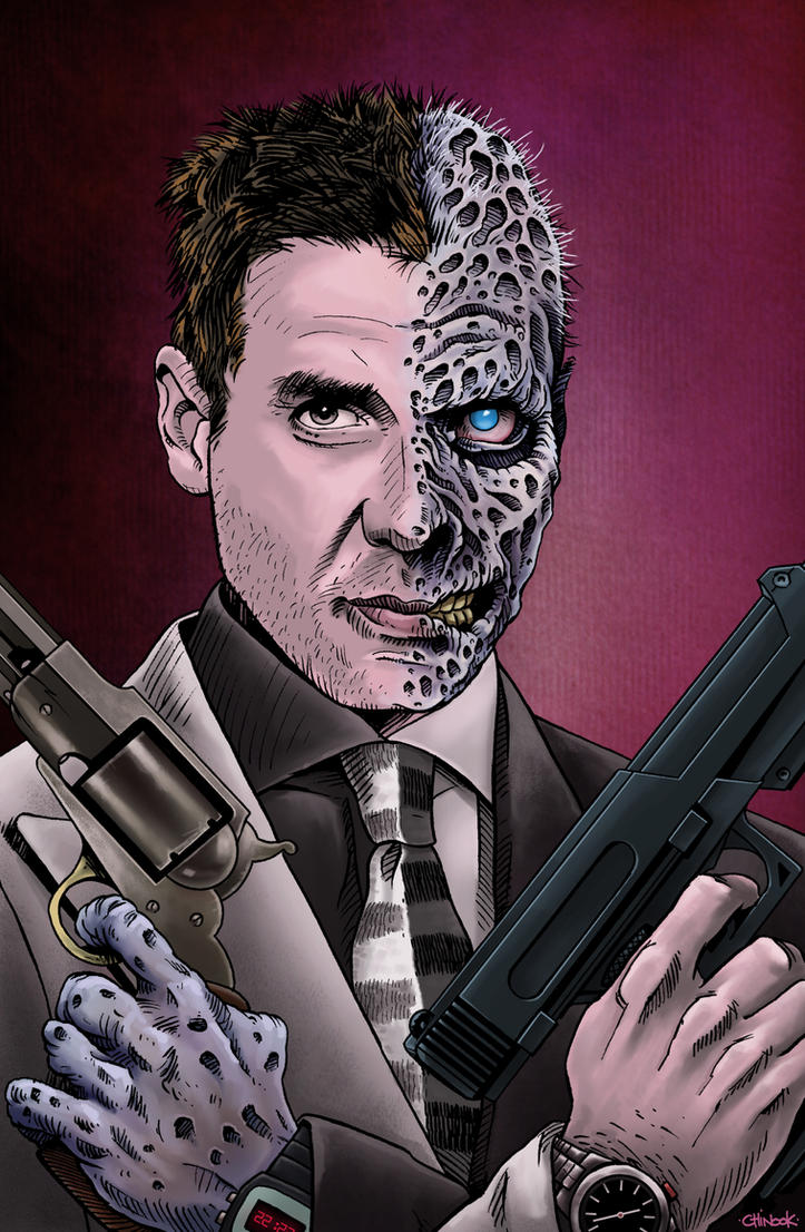 TWO FACE  2017 by chinook23