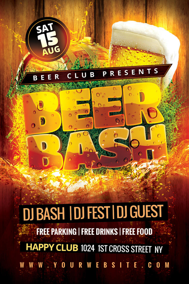 Beer Bash Flyer by Dilanr