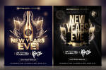 New Year's Eve Flyer by Dilanr