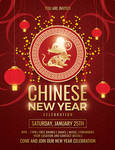 Chinese New Year Celebration Flyer Template by Dilanr