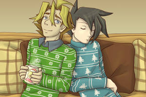 Cozy winter day by BlackThunder-chan