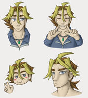 Some Shingo doodles by BlackThunder-chan