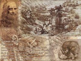 Leonardo Da Vinci Wallpaper by Musoka-Kun