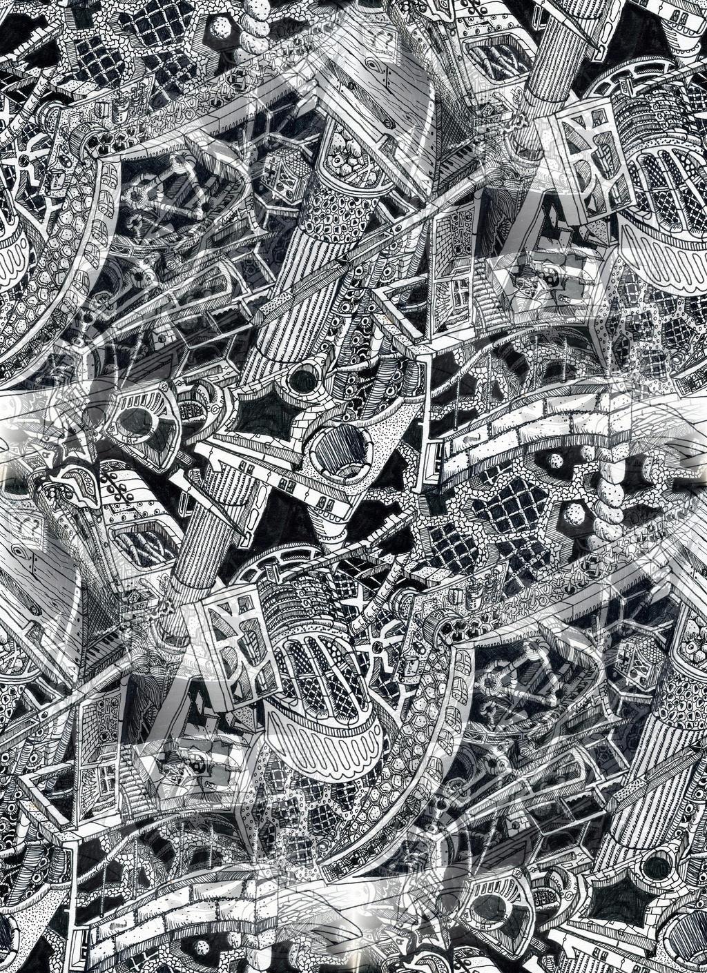 Fig 2. Nano-fractal drive substrate
