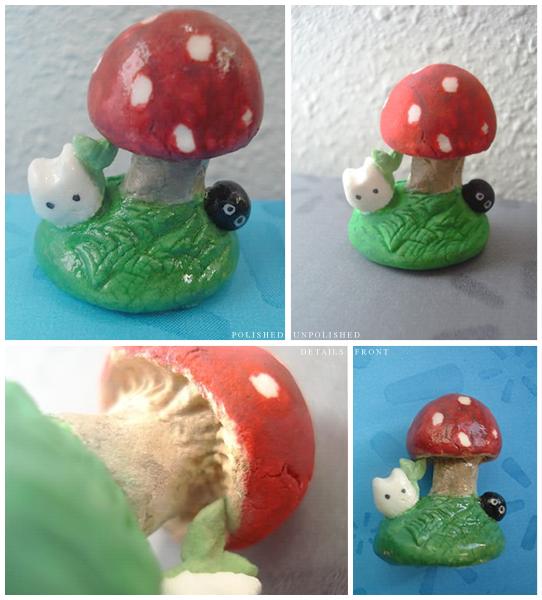 White Totoro and Soot Ball by magikwishez