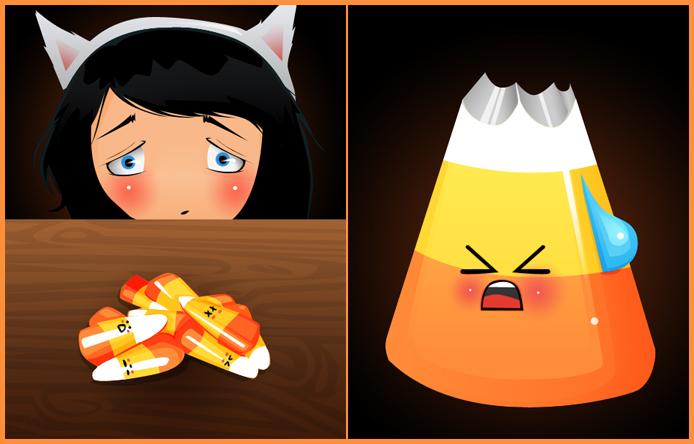 Candycorn Nightmare by shebid