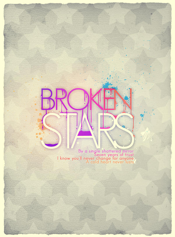 Broken Stars by shebid