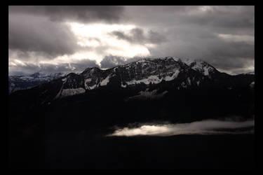 Lit Clouds I by Zenith-XO