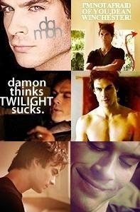 Damon Salvatore by dfueg27