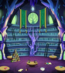 Twilight's Castle Library Background
