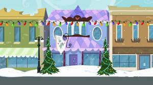 Equestria Girls Christmas Background