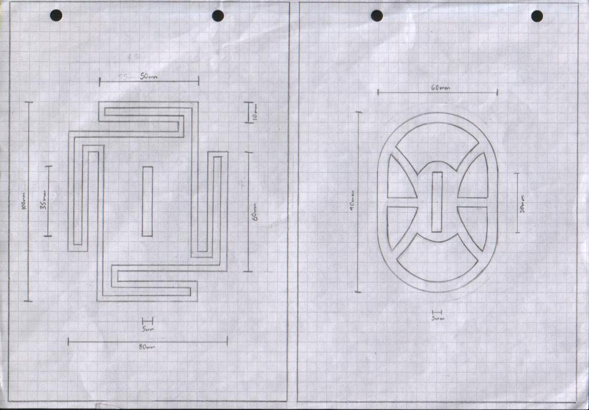 Zanpakuto Tsuba Designs: Pt 1 by chioky