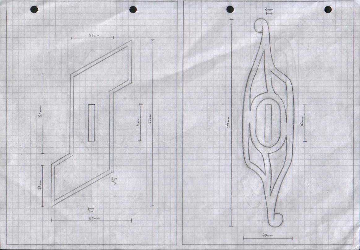 Zanpakuto Tsuba Designs: Pt 5 by chioky