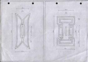 Zanpakuto Tsuba Designs: Pt 6 by chioky