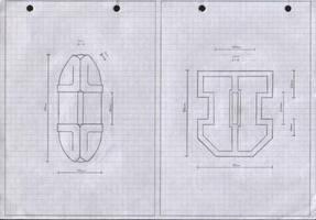 Zanpakuto Tsuba Designs: Pt 12 by chioky