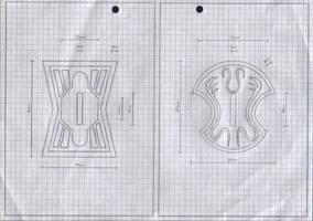 Zanpakuto Tsuba Designs: Pt 15 by chioky