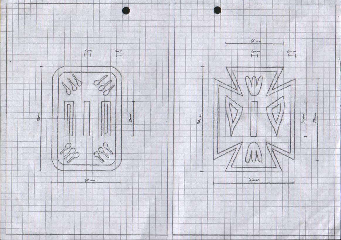 Zanpakuto Tsuba Designs  Yachiru Kusajishi Zanpakuto