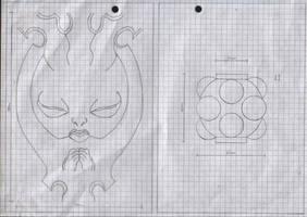 Zanpakuto Tsuba Designs: Pt 19 by chioky