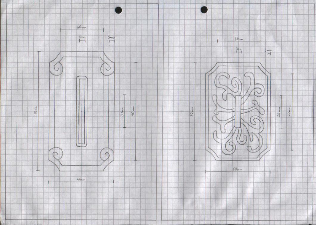 Zanpakuto Tsuba Designs: Pt 23 by chioky