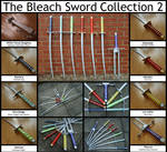 The Bleach Sword Collection 2 by chioky
