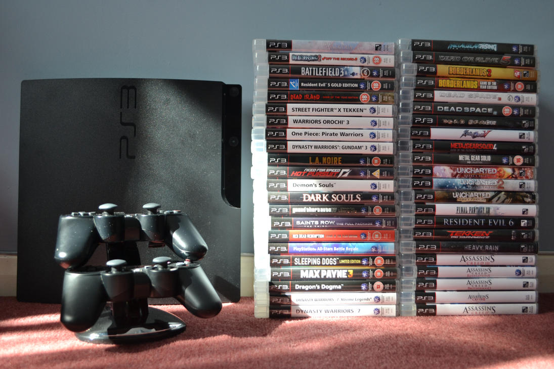 My PS3 Game Collection by chioky