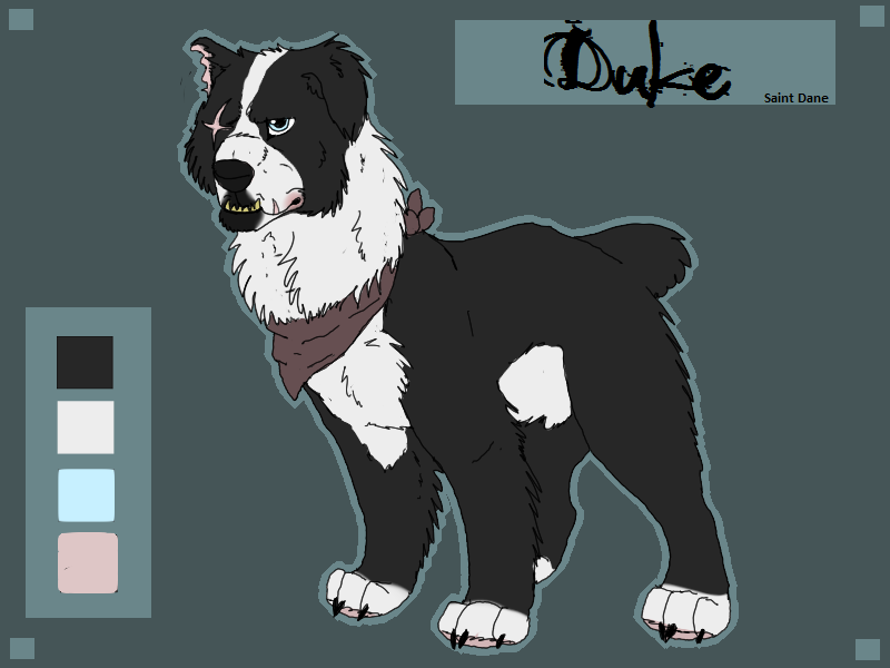 CC: Duke Ref by incandescentMoonlite