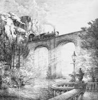 Bridge to Bath by LotharZhou