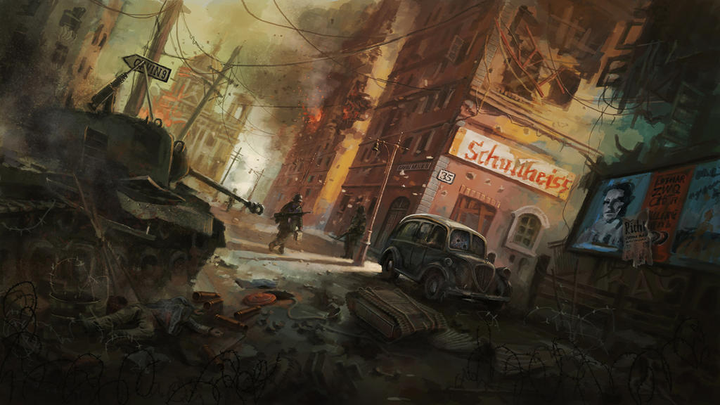 Berlin Downfall1945 by LotharZhou