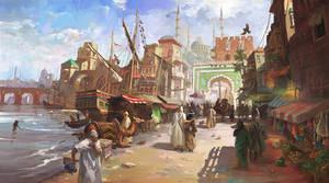 Medieval Fantasy Port