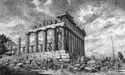 Parthenon by LotharZhou