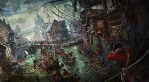 Great Port by LotharZhou