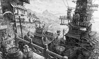 JiuFeng Taiwan by LotharZhou