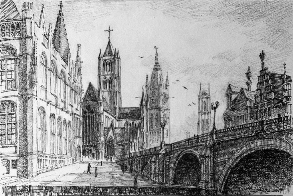 Gent by LotharZhou
