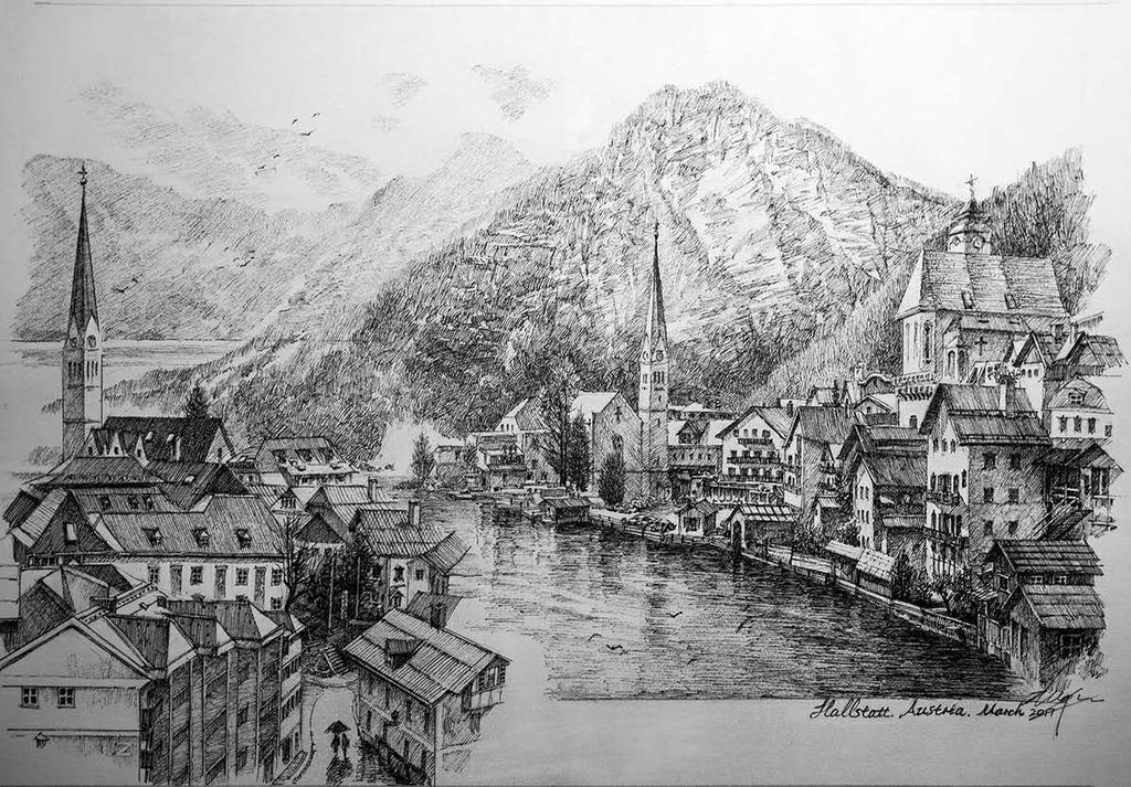 Hallstatt by LotharZhou
